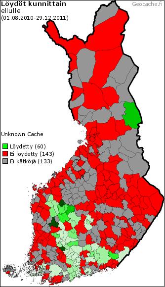 Ellulle, 60 municipalities before publishing date
